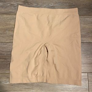 Jockey Beige Shapewear Shorts Sz XL